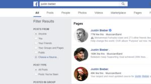 Justin at Facebook